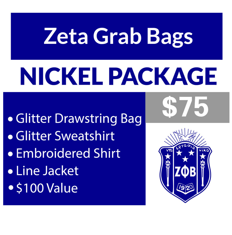 A. Single Order Zeta Grab Bag Nickel Package Black 2XL Line Jacket Unavailable (16 business day turnaround)