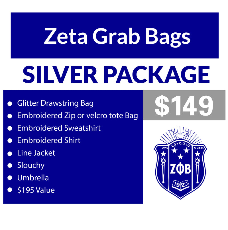 C. Single Order Zeta Grab Bag Silver Package (16 business day turnaround)