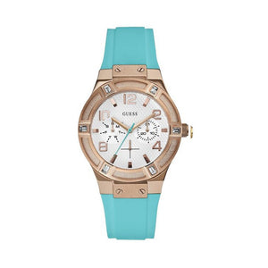 Blue Plastic Strap 39mm Watch