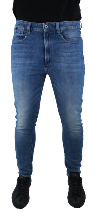 G-Star Type C Light Aged Humber Super Stretch Denim Jeans - Wholesale Designer Clothing