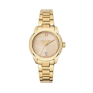 Gold Steel 36mm Watch