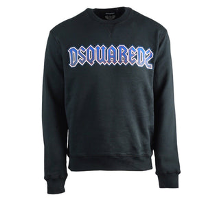 Dsquared2 S71GU0315 S25030 900 Cool Fit Black Sweatshirt