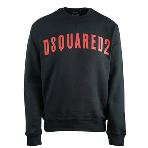 Dsquared2 S71GU0317 S25030 900 Cool Fit Black Sweatshirt