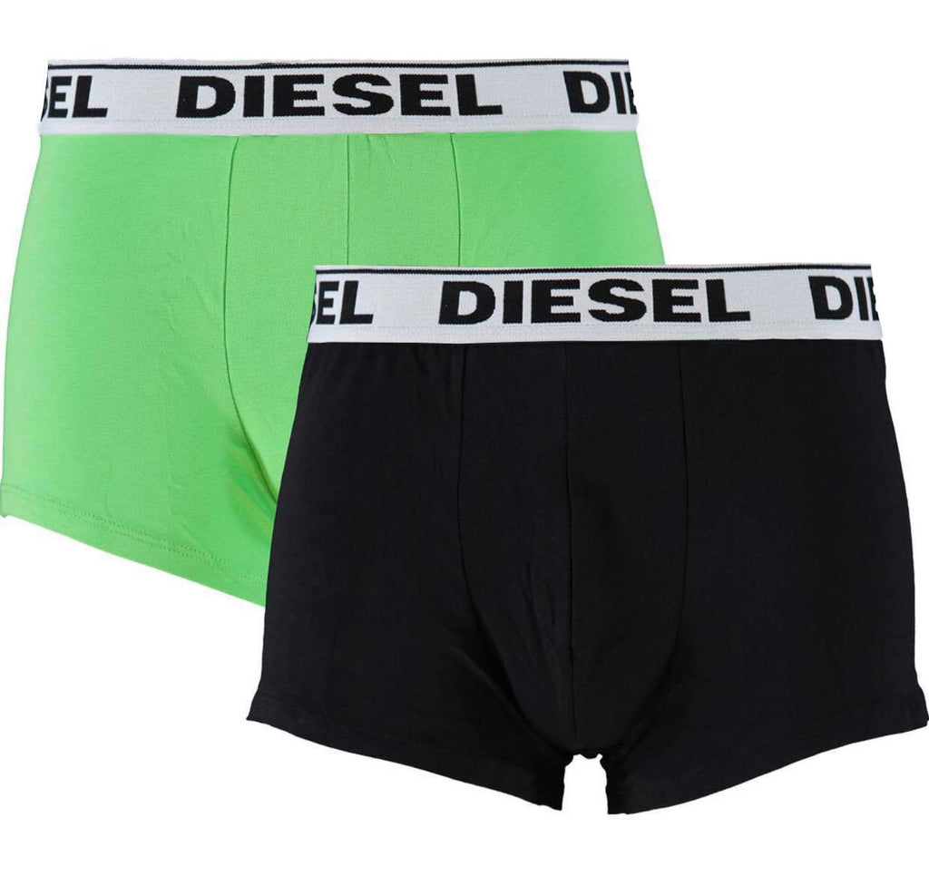 Diesel UMBX-KORY E2000 Boxer Shorts Two Pack - Nova Designer Clothing Luxury Mens