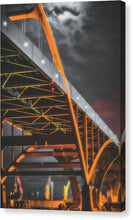 Load image into Gallery viewer, Hoan Bridge Tall and Gloomy - Canvas Print