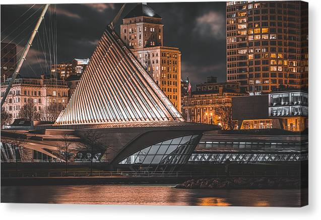 Metropolis Shoreline - Canvas Print