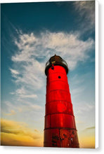 Load image into Gallery viewer, MKE lighthouse - Canvas Print