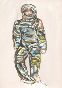 GIJoe Mercury Man Watercolour