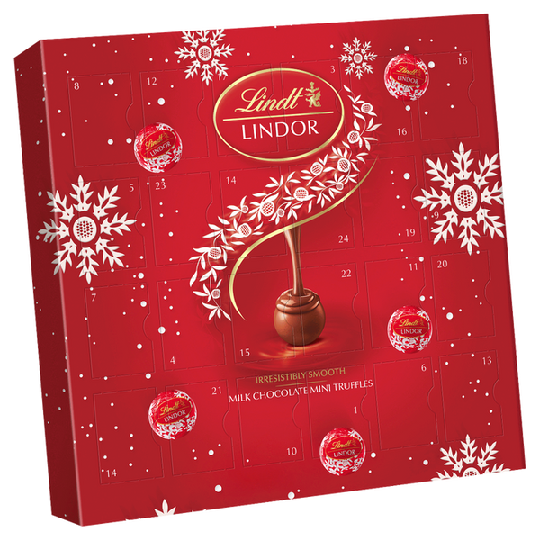 Lindt - Lindor mini chocolate advent calendar 109g