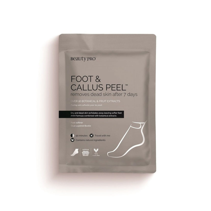 Beauty Pro Foot & Callus Peel With Over 17 Botanical And Fruit Extracts 40g