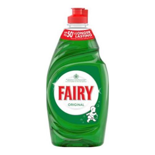 Fairy Original Washing Up Liquid Green with LiftAction 433ml
