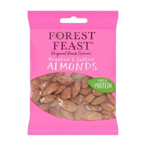 Forest Feast Roasted & Salted Almonds 40g