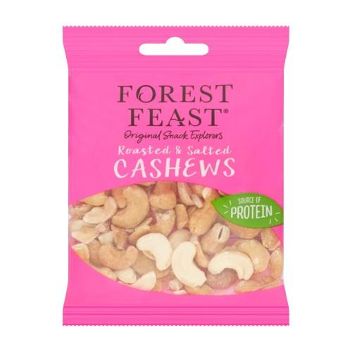 Forest Feast Roasted & Salted Cashews 35g