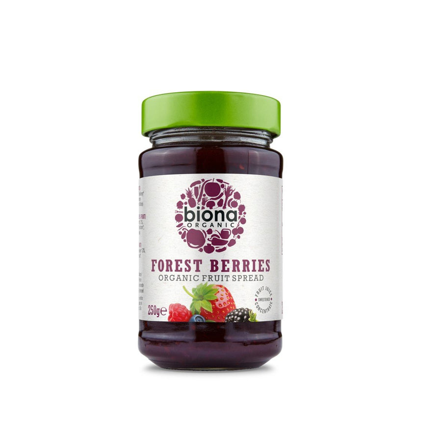 BIONA Organic Forest Fruit Spread 250g