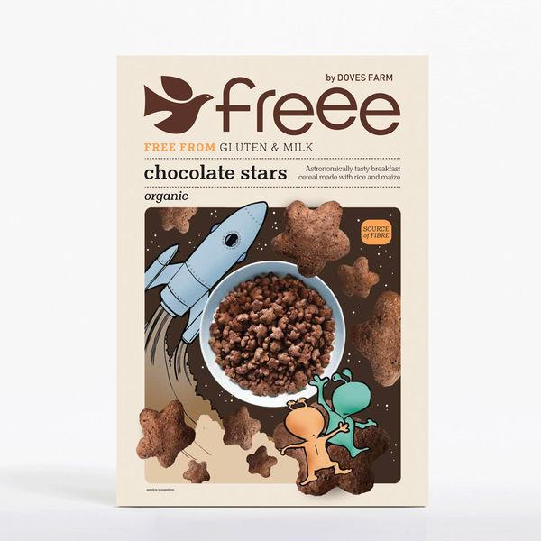 FREEE by Doves Farm Organic Chocolate Stars 300g