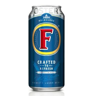 Fosters Beer 440ml
