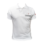 Load image into Gallery viewer, SWISSVAX POLO SHIRT white / black