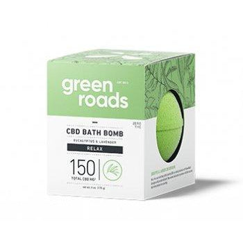 Green Roads CBD Bath Bomb - Relax 150mg Each 6oz