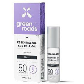 Green Roads Essential Oil - PEACE 50MG 10 ML Roll On