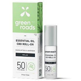 Green Roads Essential Oil - RELAX 50MG 10 ML Roll On