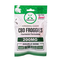 Green Roads Froggies 200MG Go Pack 4 X 50 MG Froggies