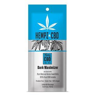1 Free packet Hempz & CBD Maximizer Dark Intensifiers With Tyrosine. 5oz