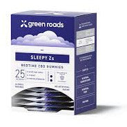 Green Roads Sleepy Z's CBD Gummies 50mg 24CT Display Box