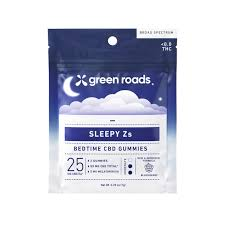 Green Roads Sleepy Z's CBD Gummies 50mg Single Pack