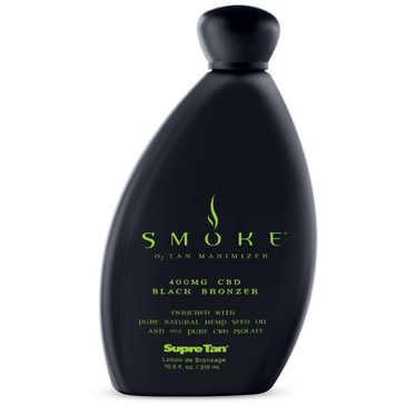 Smoke CBD Black Bronzer 100% Pure Natural Hemp Seed Oil & 99% Pure CBD Isolate .10.5oz