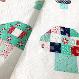 A Nice Place to Live Quilt Pattern - Mushroom Houses - PAPER