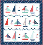 Sweet Sailing Quilt Pattern - PDF - Instant Download