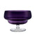 Footed Trifle Bowl, Aubergine