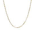 Gold Fiagro Chain Necklace