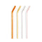 Glass Straws - Set of 4, Warm