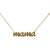 Mama Diamond 14k Necklace