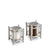 New York Diner Salt & Pepper Set, Platinum