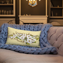 Load image into Gallery viewer, Gone To Fraser's Ridge Premium Pillow (available in three sizes)