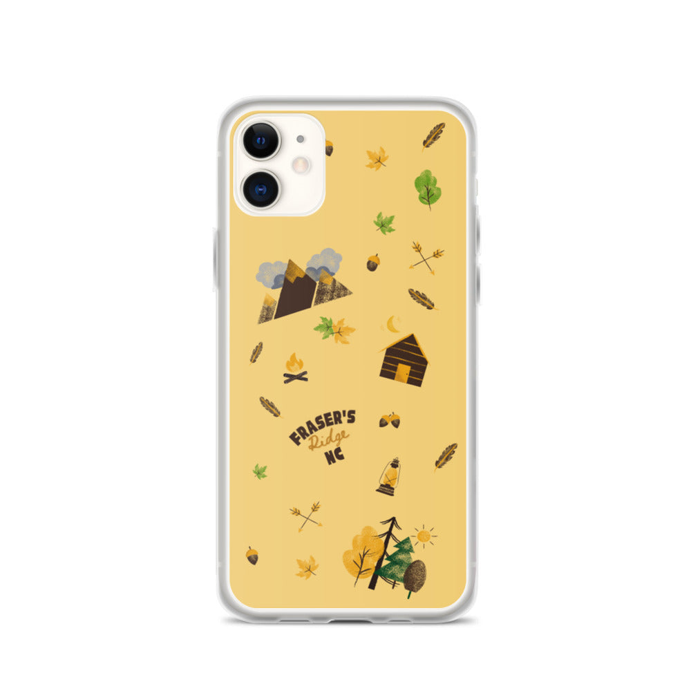 Fraser's Ridge Icons iPhone Case