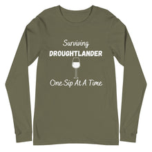 Load image into Gallery viewer, Surviving Droughtlander Unisex Long Sleeve Tee (available in 6 colors)