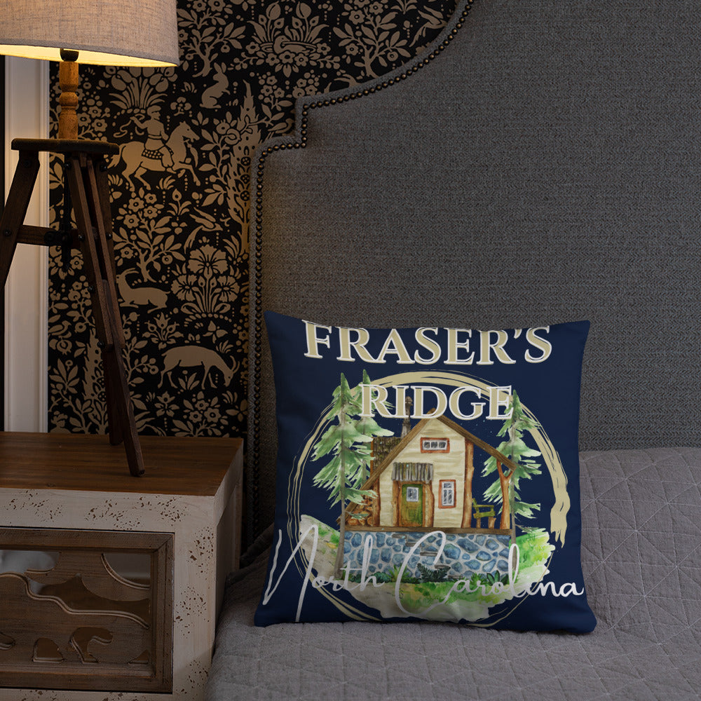 Fraser's Ridge North Carolina Pillow (available in 3 sizes)