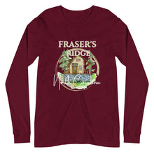 Load image into Gallery viewer, Fraser's Ridge North Carolina Unisex Long Sleeve Tee (available in 5 colors)