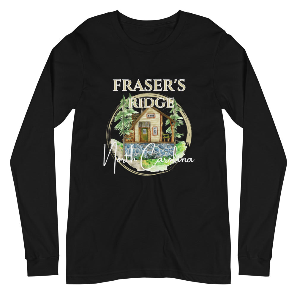 Fraser's Ridge North Carolina Unisex Long Sleeve Tee (available in 5 colors)