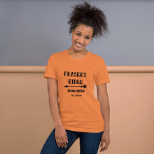Load image into Gallery viewer, One Mile To Fraser's Ridge Short-Sleeve Unisex T-Shirt (available in 9 colors)