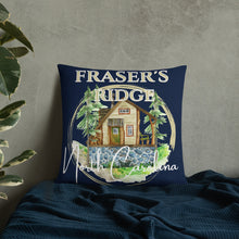 Load image into Gallery viewer, Fraser's Ridge North Carolina Pillow (available in 3 sizes)