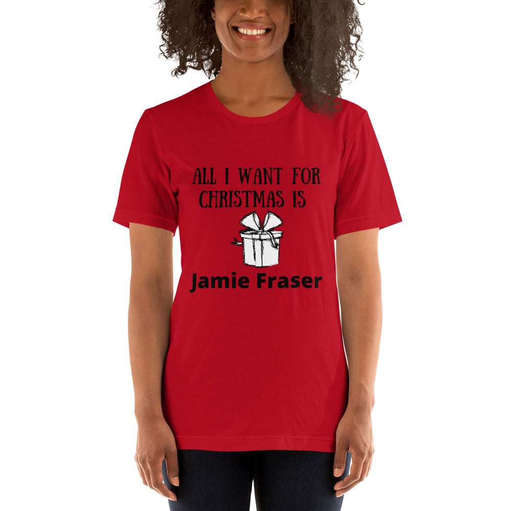 All I Want For Christmas Short-Sleeve Unisex T-Shirt (Available In 3 Colors)