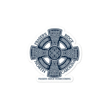 Load image into Gallery viewer, Fraser's Ridge Homecoming Celtic Cross Bubble-free stickers