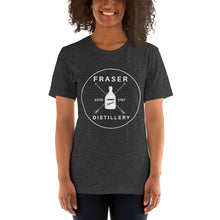 Load image into Gallery viewer, Fraser's Ridge Distillery Short-Sleeve Unisex T-Shirt (available in 11 colors)