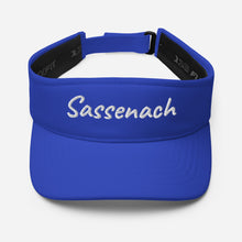 Load image into Gallery viewer, Embroidered Sassenach Visor (available in 4 colors)