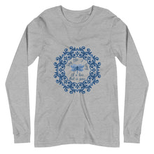 Load image into Gallery viewer, Sing Me A Song Dragonfly Unisex Long Sleeve Tee (available in 2 colors)