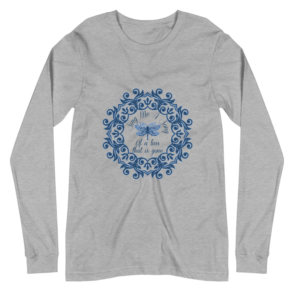 Sing Me A Song Dragonfly Unisex Long Sleeve Tee (available in 2 colors)